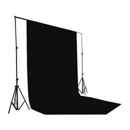 Фоны - Фон тканевый B-102 (300х500см) чёрный, 0