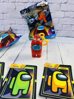 Мягкие игрушки - Игрушка AMONG US 24 шт в блоке, 0