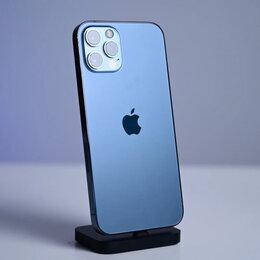 Мобильные телефоны - iPhone 12 Pro Max Pacific Blue 128gb новые Ростест, 0