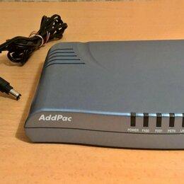 VoIP-оборудование - Шлюз IP-телефонии, VoIP–шлюз G/W: AddPac AP200B VoiceFinder, 0