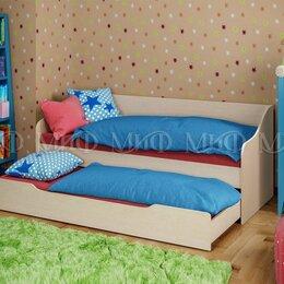Кроватки - Кровать детская с дополнительным спальным местом (ящиком) Вега - 2, 0