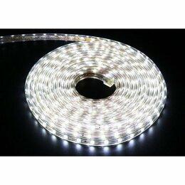 Интерьерная подсветка - Гибкая уличная LED лента с контроллером, 5 м, белый, 0