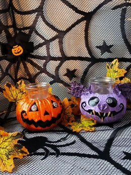 Вазы - Hand Made вазочки с символом Хэллоуина, 0