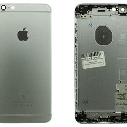 Корпусные детали - Задняя крышка Apple iPhone 6S Plus серебро, 0