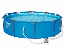 Бассейны - Каркасный бассейн Bestway 305*100 см (фильтр), 0