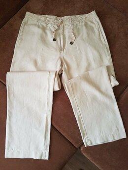 Брюки - Henry Cottons брюки льняные р. 56, 0