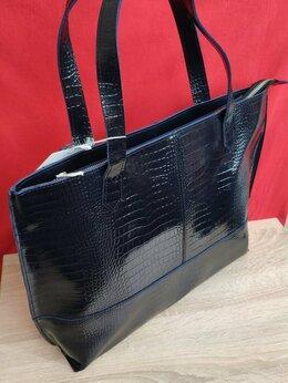 Сумки - Новая сумка Шоппер из натуральной кожи, 0