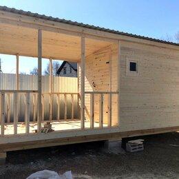 Готовые строения - Бытовка с верандой размером 6 х 2,2 м., 0