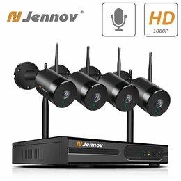 Готовые комплекты - Комплект видеонаблюдения Jennov wifi, 0