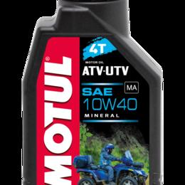 Масла, технические жидкости и химия - Масло моторное MOTUL (Мотюль) ATV - UTV 4T, SAE 10W40 (4л), 0