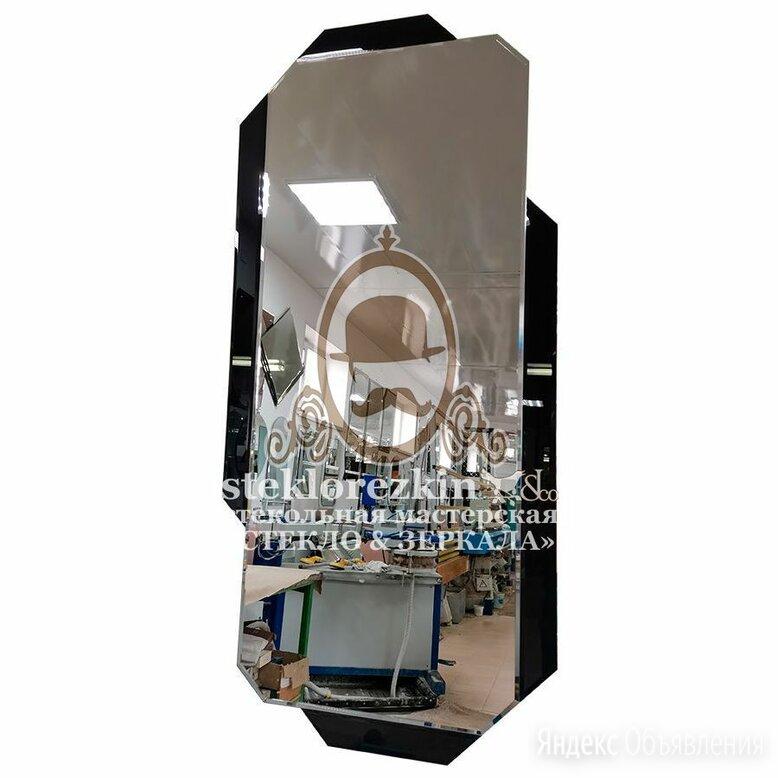 Зеркало ©️ №162.2 чёрное в современный стиль интерьера по цене 3220₽ - Зеркала, фото 0