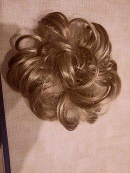 Аксессуары для волос - Шиньон на резинке, 0