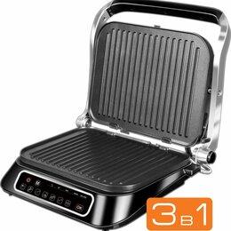Электрические грили и шашлычницы - Электрогриль Redmond SteakMaster RGM-M805 2100Вт…, 0