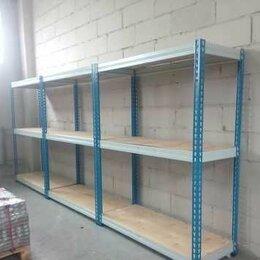Стеллажи и этажерки - Металлический полочный стеллаж для склада, 0