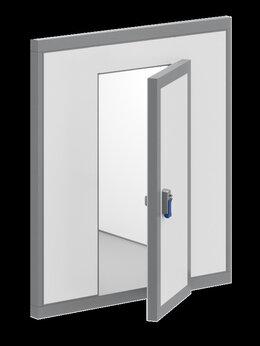 Морозильное оборудование - Дверной блок с распашной дверью 2040*1200*80…, 0