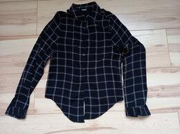 Рубашки и блузы - Чёрная в клетку блузка (из Германии), 0