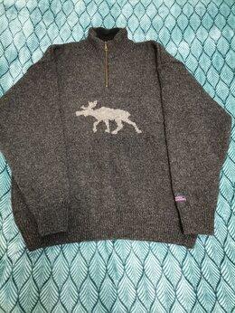 Свитеры и кардиганы - Настоящий норвежский свитер с оленем, 0