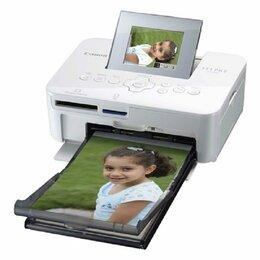 Принтеры и МФУ - Компактный фотопринтер Canon Selphy CP1000 White, 0