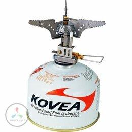 Туристические горелки и плитки - Горелка газовая Kovea KB-0101 титановая Titanium…, 0