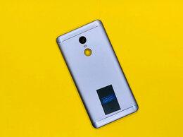 Корпусные детали - Задняя крышка Xiaomi Redmi Note 4X (3/32GB) серая, 0