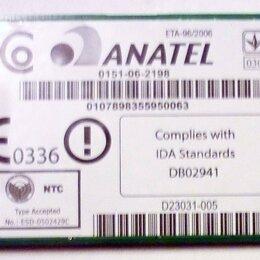 Аксессуары и запчасти для ноутбуков - Модуль WiFi Anatel 0151-06-2198 ESD-0502429C от Sony Vaio PCG-4N4P и др., 0