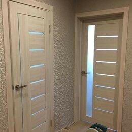 """Межкомнатные двери - Дверь межкомнатная экошпон """"7С1С"""" беленый дуб, 0"""