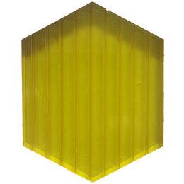 Поликарбонат - Поликарбонат 6мм лимон (6м), 0