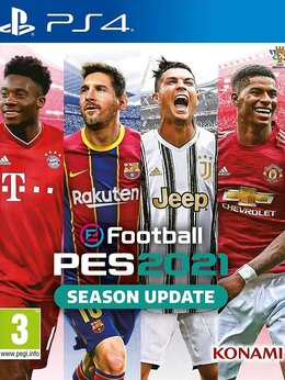 Игры для приставок и ПК - Видеоигра Pro Evolution Soccer 2021 (eFootball…, 0