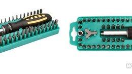 Отвертки - SD-205, Отвертка с набором насадок, набор 62…, 0