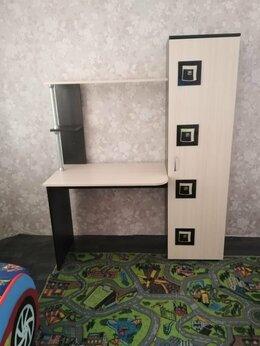 Компьютерные и письменные столы - стол письменный для школьника, 0