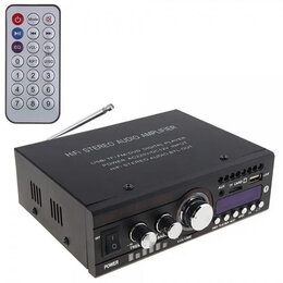 Усилители и ресиверы - Домашний усилитель звука для колонок 20 Вт, 0