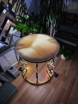 Столы и столики -  Стол из оникса ручная ковка, 0
