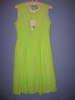 Платья - Платье новое с биркой 42-44 яркое + лак в подарок, 0