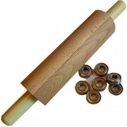 Скалки - Деревянная скалка размер 35-7,7см, 0