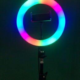 Осветительное оборудование - Кольцевая лампа цветная , 0