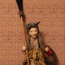 Новогодние фигурки и сувениры - Елочная игрушка Баба -Яга, 0