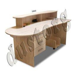 Мебель для учреждений - Стол письменный ресепшн новый бесплатно доставка , 0