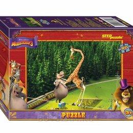 Пазлы - Пазлы Steppuzzle DreamWorks Мадагаскар 3 80 элементов, 0