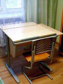 Компьютерные и письменные столы - Парта для школьника дэми модель сут 14-02, 0