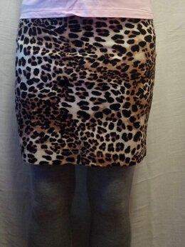 Юбки -  Юбка женская леопардовая H&M, 0