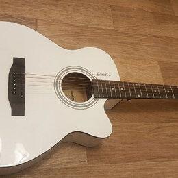 Акустические и классические гитары - Полноразмерная гитара с металлическими струнами, 0