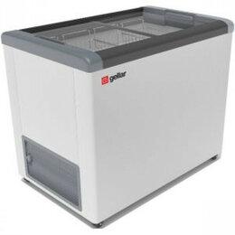 Холодильные витрины - Ларь морозильный Frostor GELLAR FG 250 C серый, 0