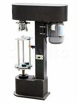 Упаковочное оборудование - Укупорщик полуавтоматический стеклянных бутылок, 0