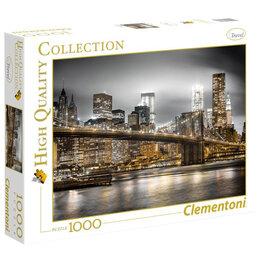 """Пазлы - Пазл 1000 эл. Clementoni """"Классика. Нью-Йорк. Огни большого города"""", 0"""