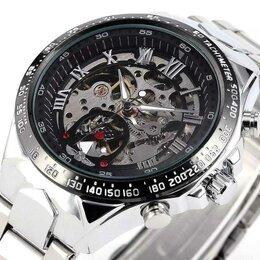 Наручные часы - Механические часы-скелетоны Winner новые, 0