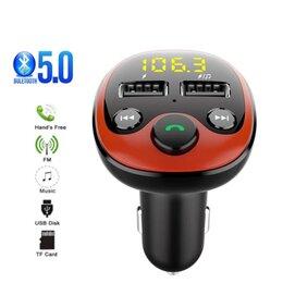 Цифровые плееры - Автомобильный Bluetooth MP3 плеер Handsfree, 0