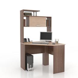 Компьютерные и письменные столы - Уценка!! Угловой компьютерный стол с полками, 0