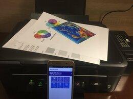 Принтеры и МФУ - Мфу Epson L386 (wifi, заводская снпч, печать фото), 0