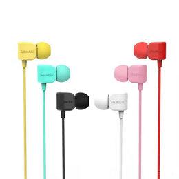 Наушники и Bluetooth-гарнитуры - Наушники REMAX Earphone RM-502, red, 0