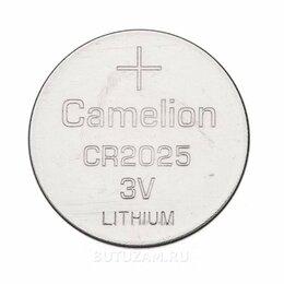 Батарейки - Батарейка Camelion CR2025 литиевая 1шт, 0